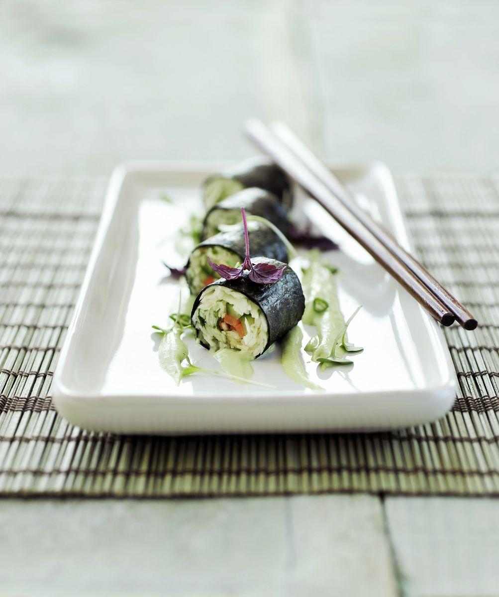 Sushi van pastinaak