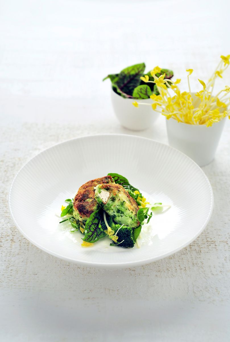 Broccolikroketjes met tofu